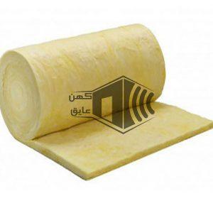 پشم سنگ 5 سانت رولی کاغذی - دانسیته 30