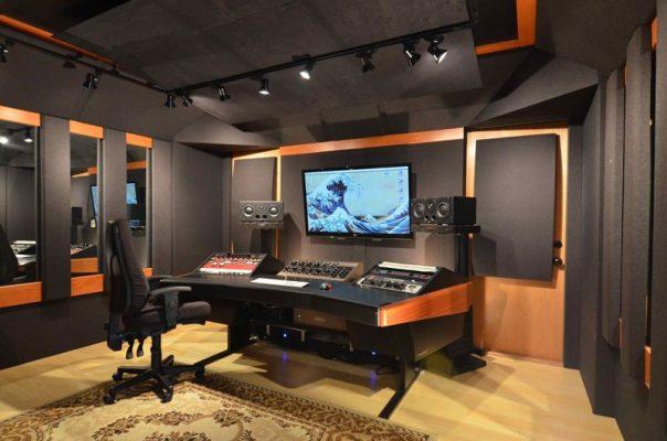 طراحی استودیو خانگی